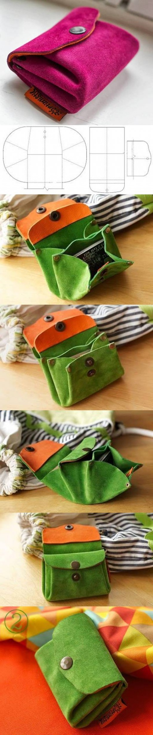 felt mini purse tutorial