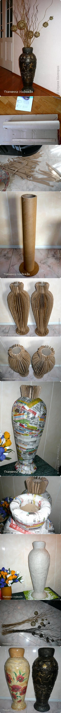 floor vase tutorial
