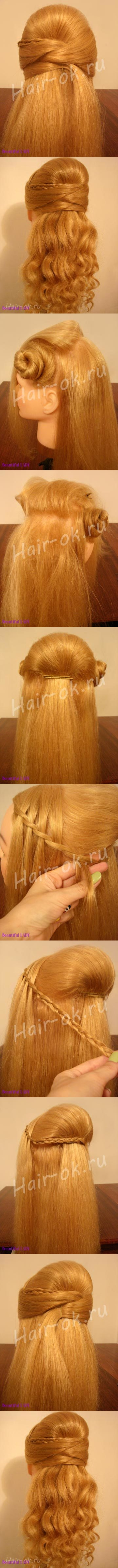 lady hairstyle tutorial