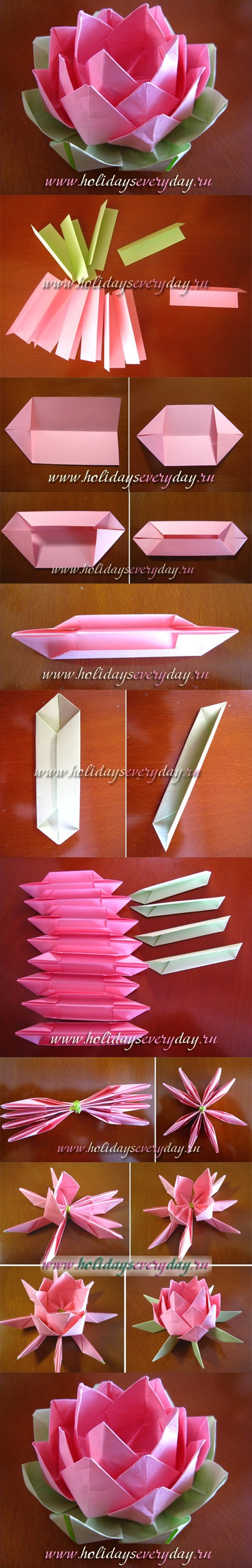 Origami lotus flower tutorial 28 images origami lotus for How to make a lotus with paper