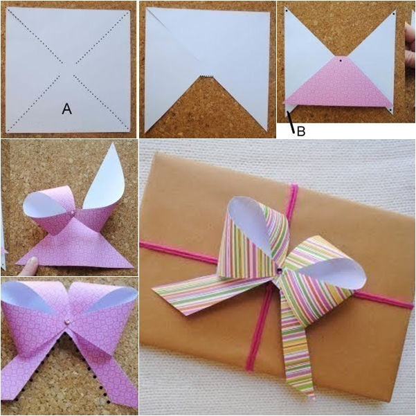 How To Make A Origami Bow