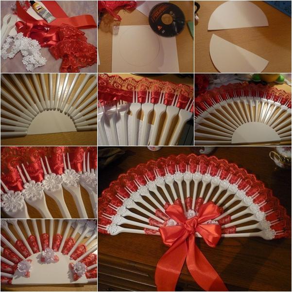 plastic fork fan f
