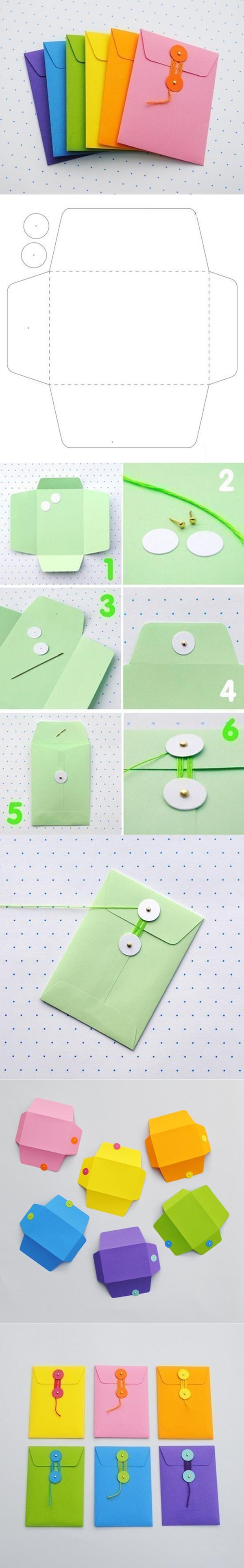 string tie envelope tutorial