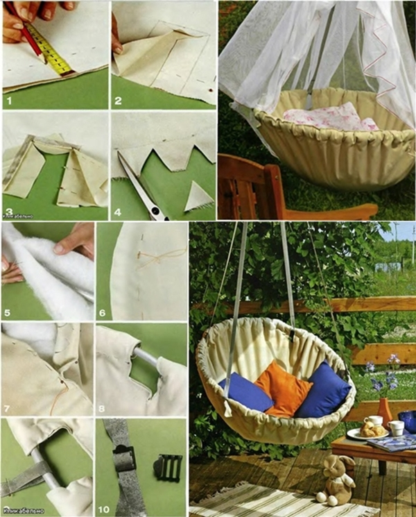 DIY Fabric Hammock Chair - Fab Art DIY