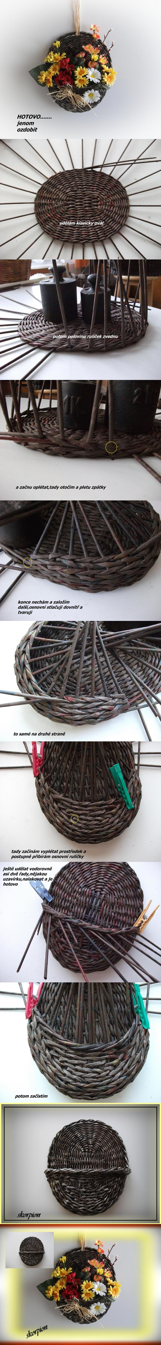 woven hanging planter tutorial
