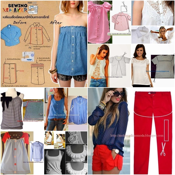 10 refashion ideas from old