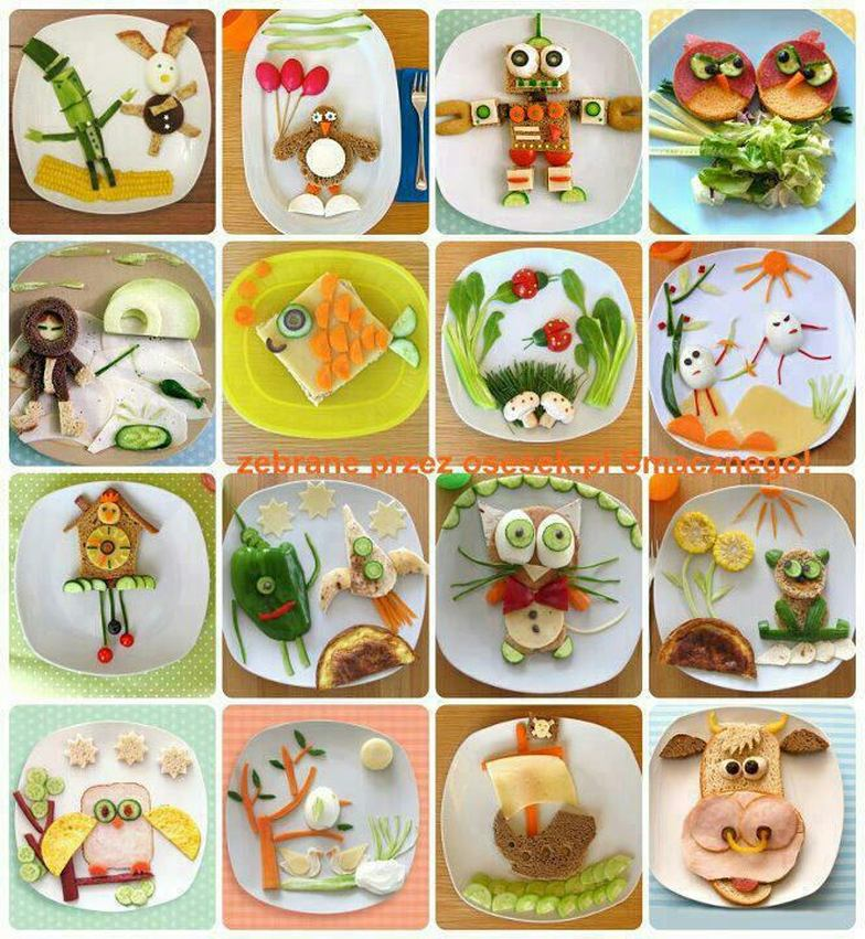 16 Creative Food Art Ideas On Animal Display