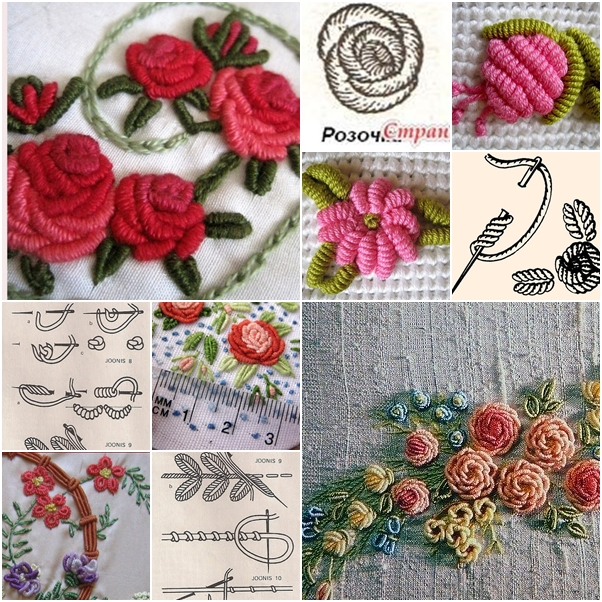How To Make Beautiful 3d Flower With Thread Embroidery Fab Art Diy