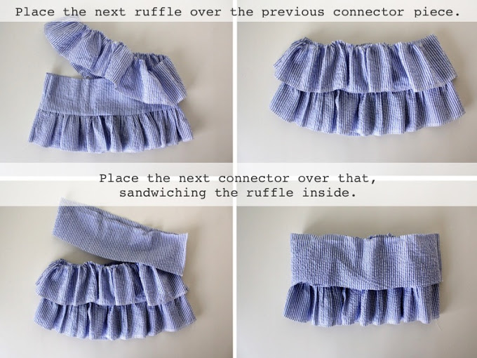 How To Make Ruffled Shirt For Girls Of All Ages Diy