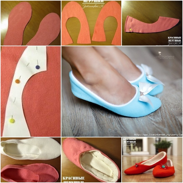 How To Make Ballet Shoes At Home Easy