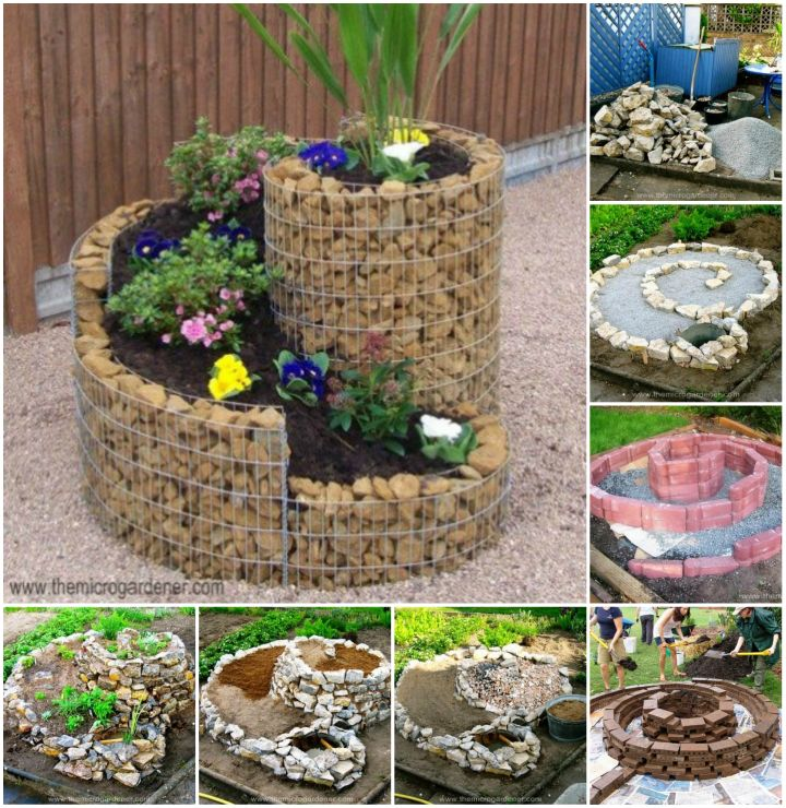 How to Build an Herb Spiral for Small Space Video