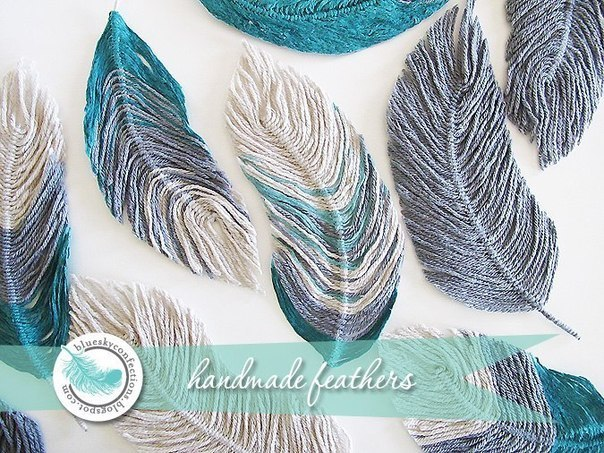 How to DIY Thread Feather
