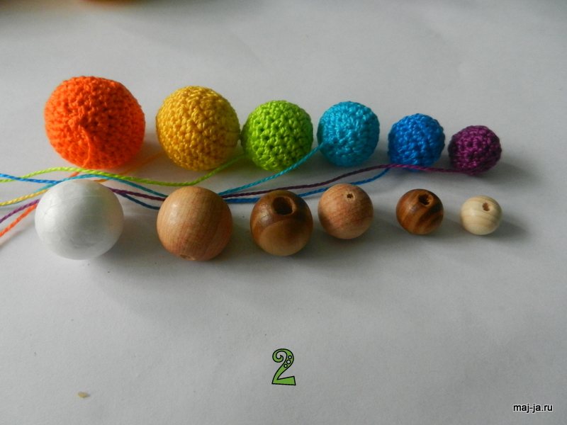 Knitting Pattern Butterfly Toy : How to Knit Colorful Toy Caterpillar www.FabArtDIY.com