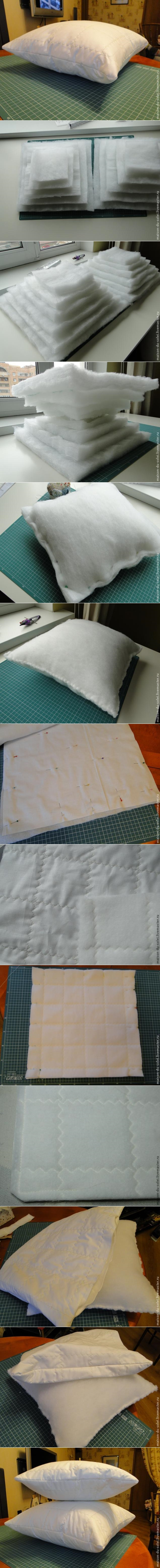 Sew Hack: DIY Plump Cushion Insert Tutorial