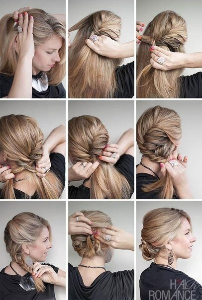 Side braided hairstyle2