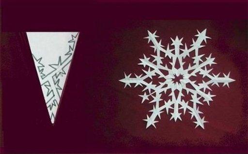 Как своими руками сделать красивые снежинки из бумаги
