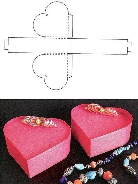 10+ Beautiful DIY Patterns of Candy Gift Box - Free Candy Gift Box Templates and Printables02.jpg