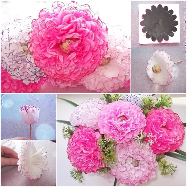 Easy Paper Flower Bouquet