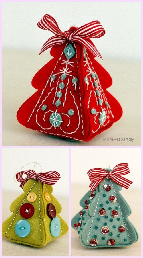 DIY Beautiful Candy Gift Box Free Template Download - Christmas Tree Candy Box