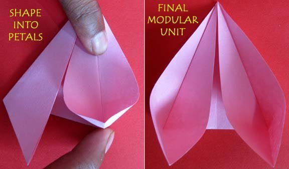 How to make lotus flower with paper vatozozdevelopment how to make lotus flower with paper how to make lovely paper origami lotus fab art diy how to make lotus flower with paper mightylinksfo