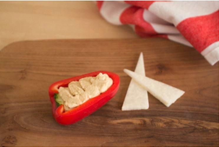 DIY Salad Vegetable Boat Appetizer Recipe 7