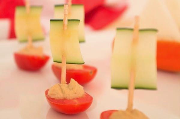 DIY Salad Vegetable Boat Appetizer Recipe 10