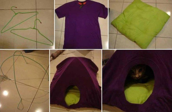 How to Make Simple Cat Tent in 3 Steps