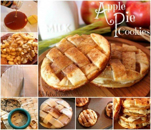 DIY  Apple Pie Cookies Recipe