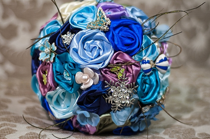 How to Make Fabulous Bridal Satin Flower Bouquet - Fab Art DIY