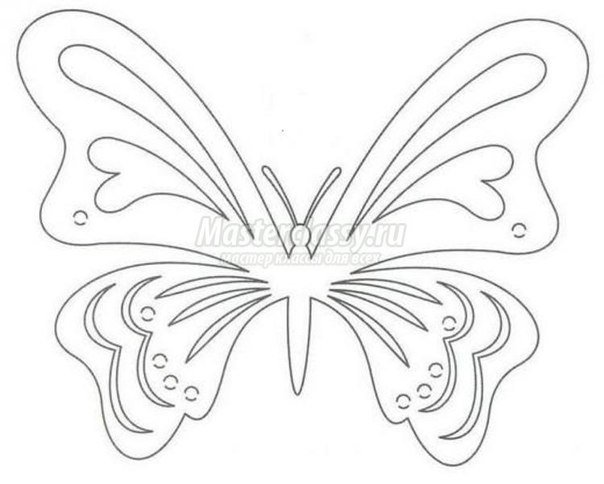 Free Carved Greeting Card Pattern - Rose and Butterfly3.jpg