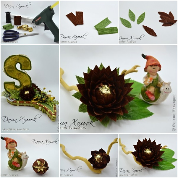 How To Make Chocolate Lotus Flower For Gift Decor Diy Tutorials