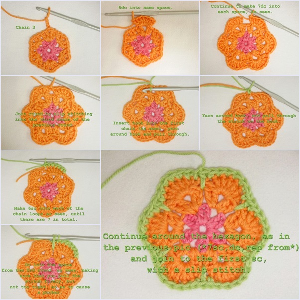 How To Make Crochet African Flower Soccer Ball Fab Art Diy
