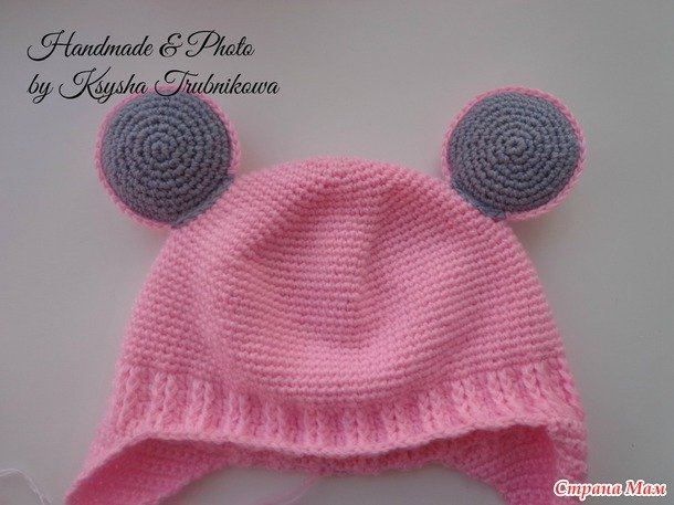 How to Crochet Cute Mouse Hat and Scarf - DIY Tutorials