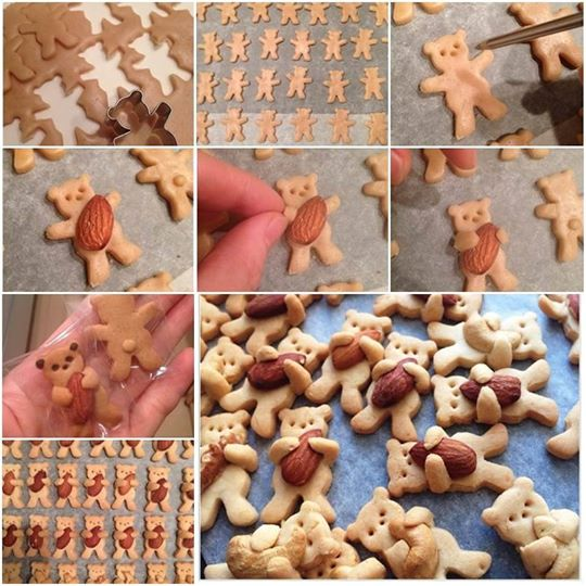 ... Diy Cute And Sweet Teddy Bear Hug Cookie Pictures to pin on Pinterest