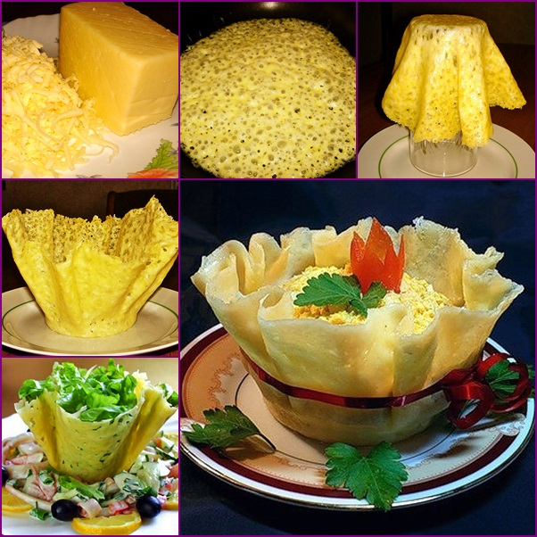HOW to diy cheese salad bowls