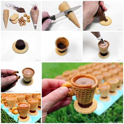 diy cute no bake teacup desserts