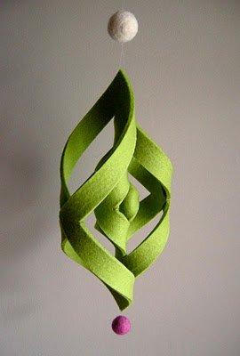 Felt 3-D Ornament Tutorial