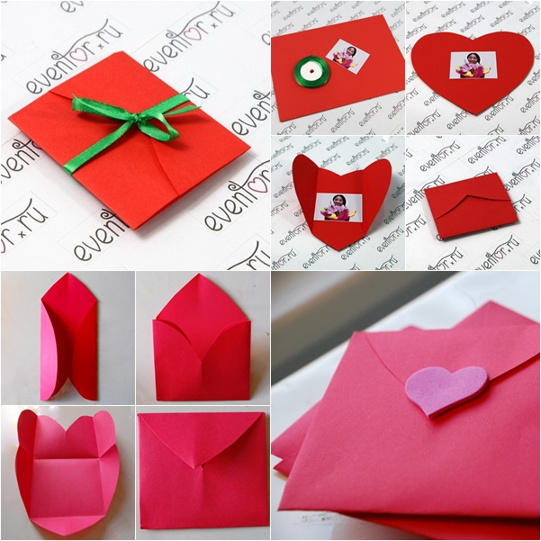 How to make heart shaped greeting card in 2 ways fab art diy m4hsunfo