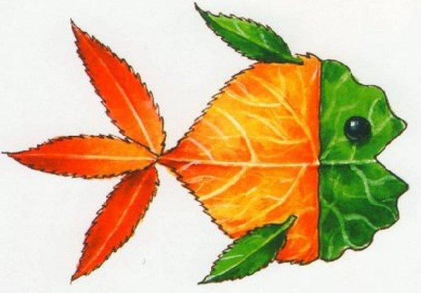 Creative Ideas on Leaf Art • DIY All in One