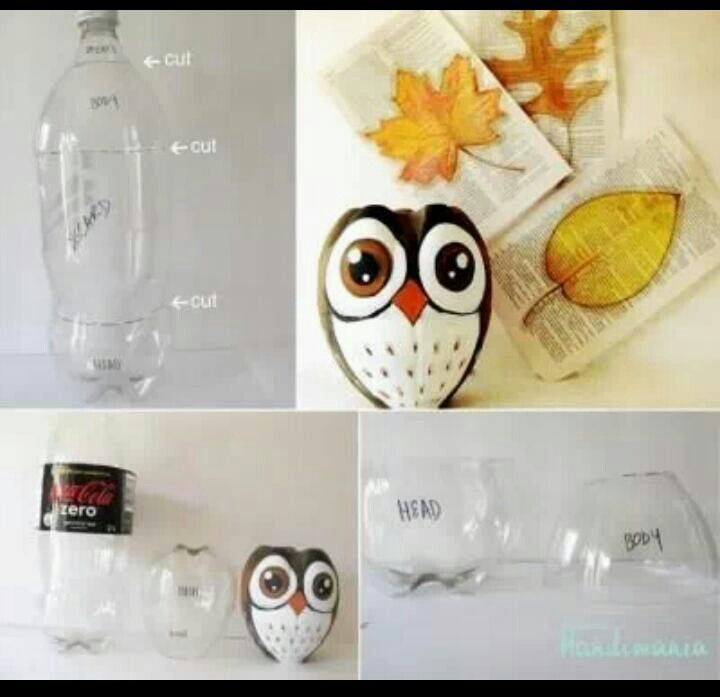 How to Make Owl Container from
