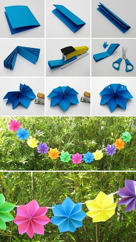 Diy easy paper flower party decoration diy paper flower party decor mightylinksfo