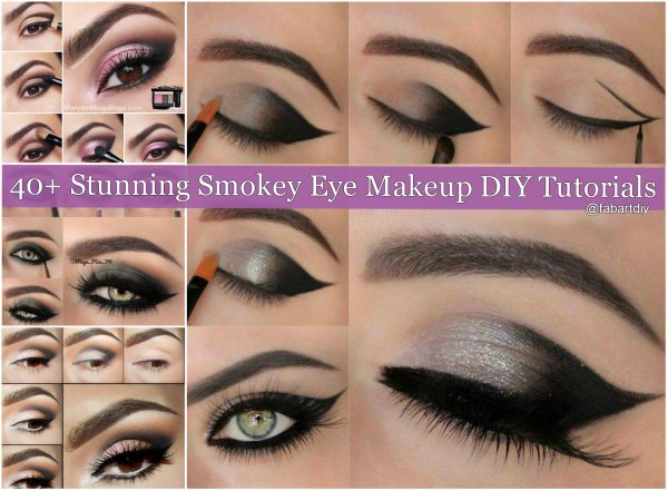 40+ Stunning Smokey Eye Makeup DIY Tutorials Roundup