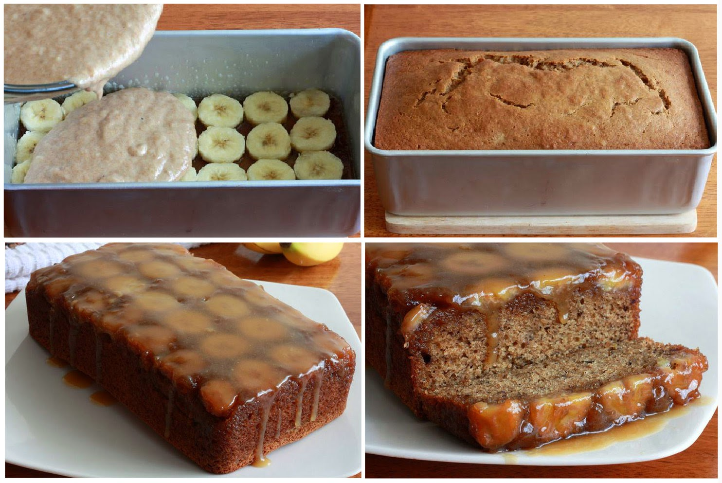 Caramel Walnut Upside Down Banana Cake Recipes — Dishmaps