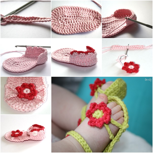 How To Diy Cute Flower Power Baby Sandals