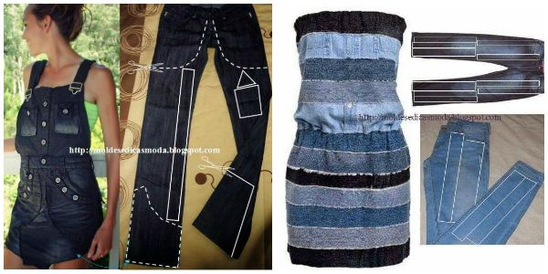 Top 11 Fab Diy Ideas To Refashion Old Jeans