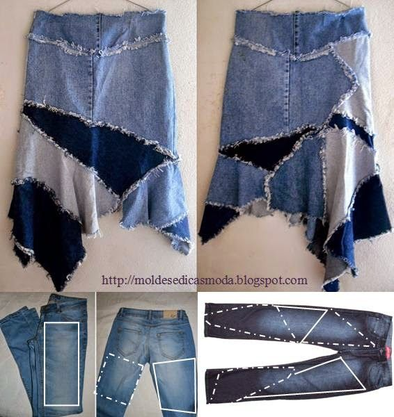 Top DIY Ideas to Repurpose Old Jeans into New Skirt