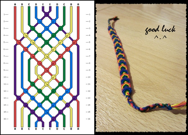 DIY Macrame Leaf Friendship Bracelets (Video)