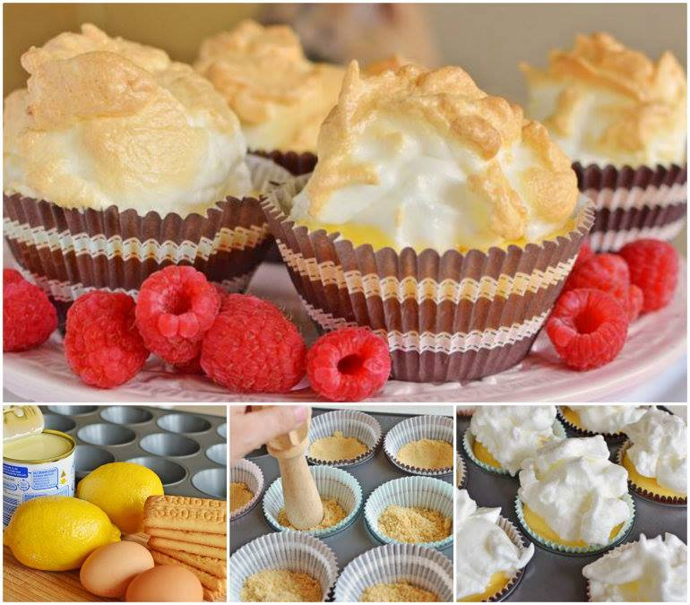 This Mini Lemon Meringue Pies is a perfect alternative for the cupcake ...