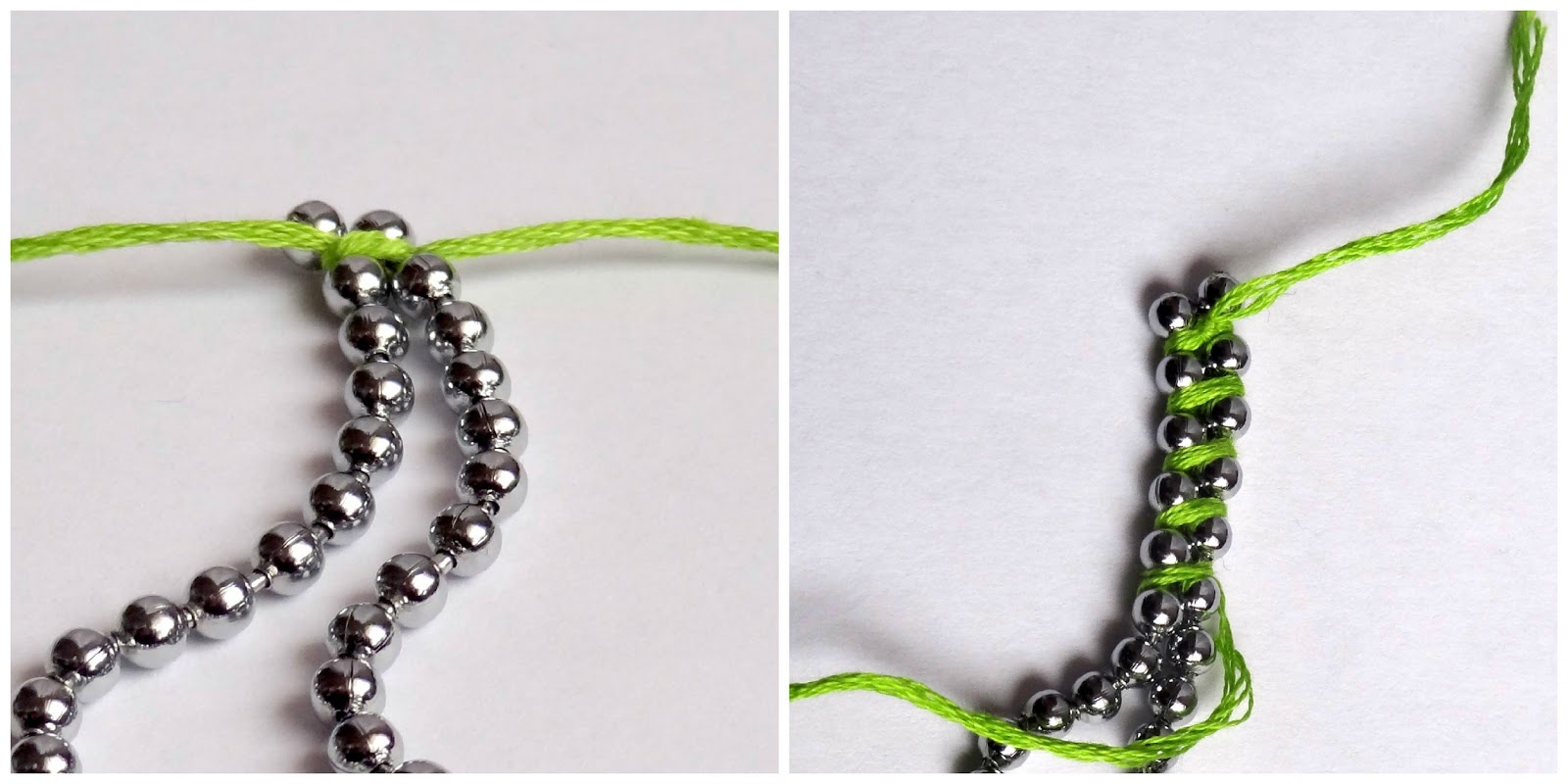 how to diy rainbow ball chain bracelet. Black Bedroom Furniture Sets. Home Design Ideas