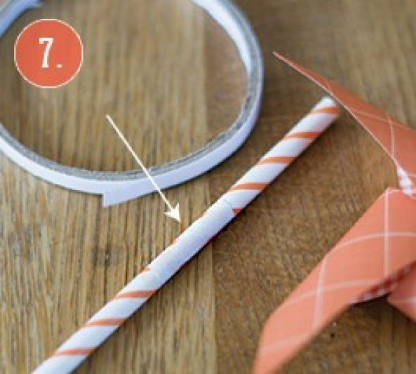 How To Diy Cute Windmill Straws For Party